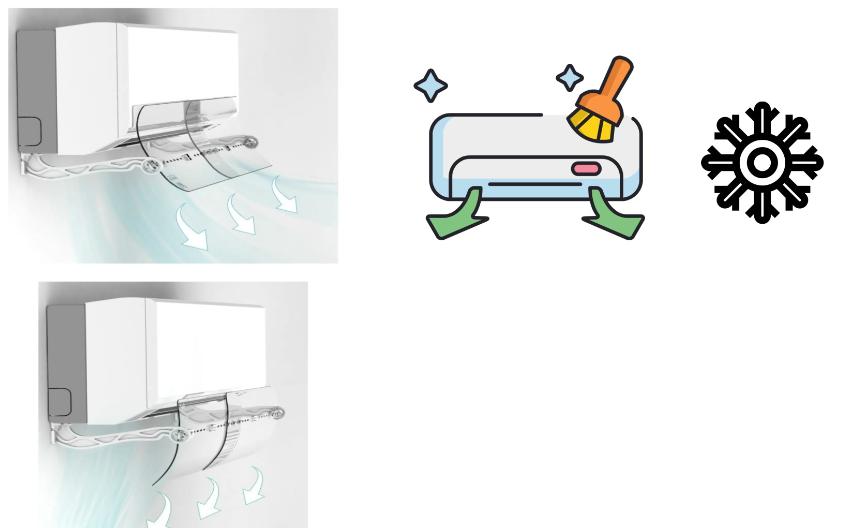 كيفية تنظيف موجه هواء المكيف