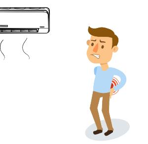 ما الأضرار المتوقعه والناجمه عن عدم إستخدام موجه تدفق هواء المكيف؟