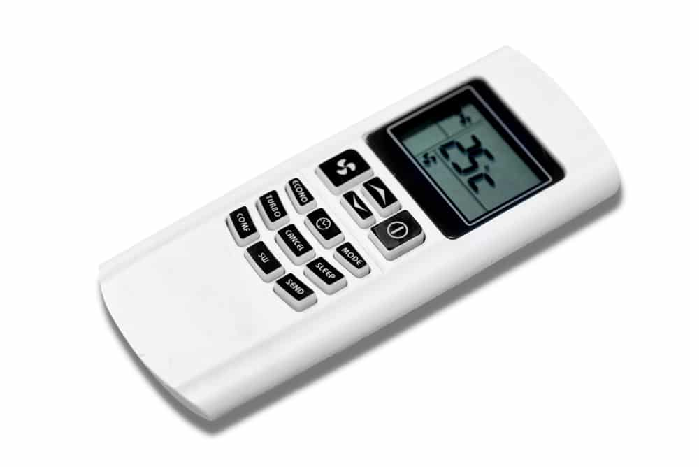 أزرار جهاز التحكم عن بعد للمكيف LIGHT & X-FAN SLEEP & CLOCK